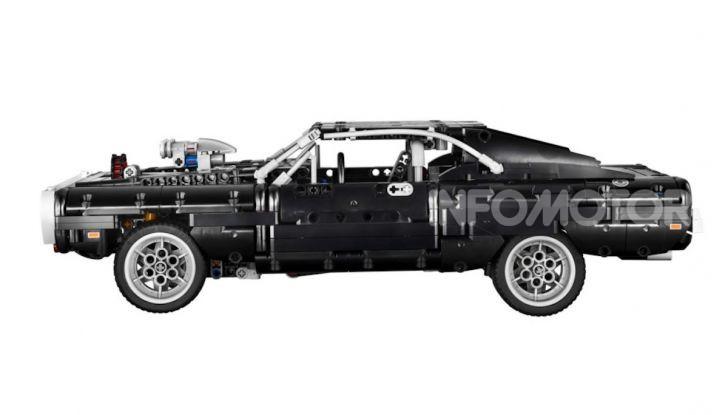 Dodge Charger Fast & Furious Lego Technic: mattoncini e potenza! - Foto 4 di 8