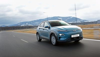 Hyundai Kona Electric: il suo valore residuo cresce del 6,4%
