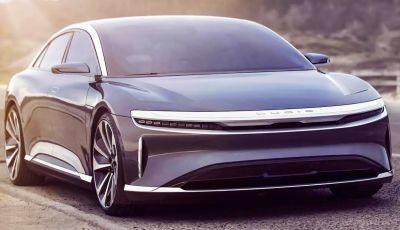 Lucid Air lancia la sfida alla Tesla Model S