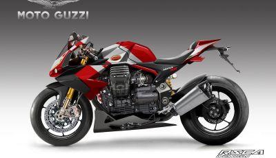 Moto Guzzi Aquila RR, la nuova sportiva immaginata da RSCA Design