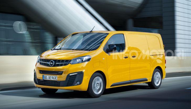 Opel Vivaro-e: il van elettrico con grande autonomia e capacità di carico - Foto 1 di 14