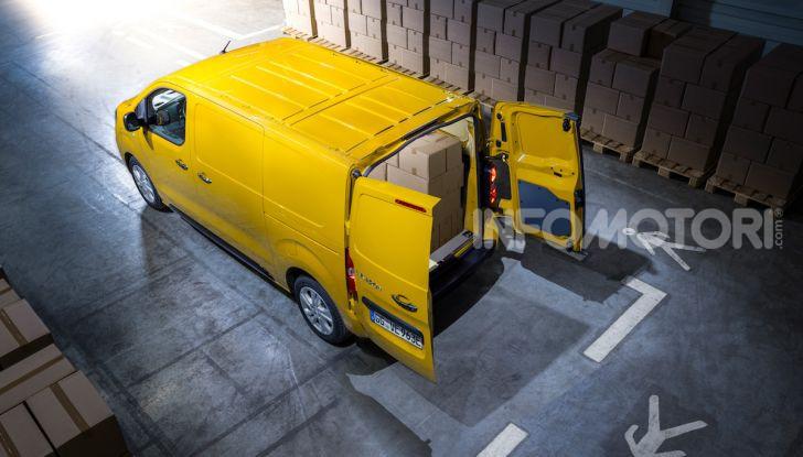 Opel Vivaro-e: il van elettrico con grande autonomia e capacità di carico - Foto 14 di 14