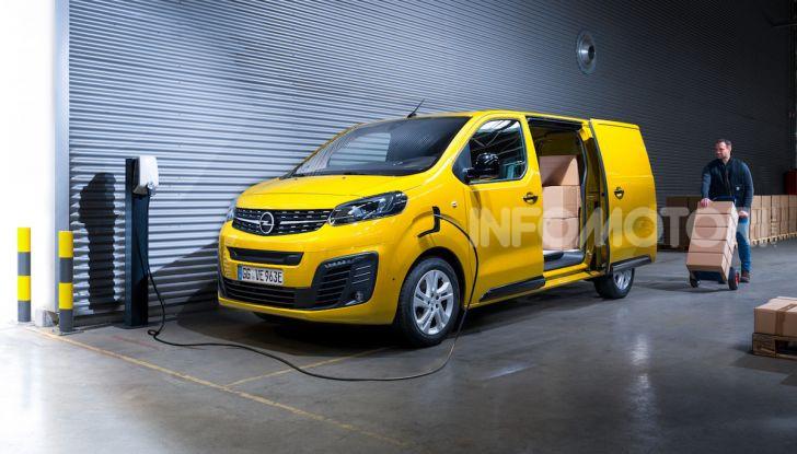 Opel Vivaro-e: il van elettrico con grande autonomia e capacità di carico - Foto 4 di 14