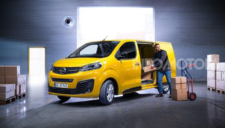 Opel Vivaro-e: il van elettrico con grande autonomia e capacità di carico - Foto 5 di 14