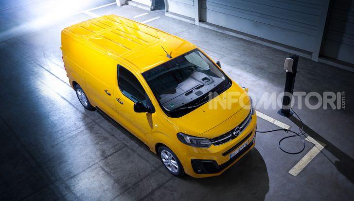 Opel Vivaro-e: il van elettrico con grande autonomia e capacità di carico - Foto 6 di 14