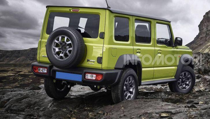 Suzuki Jimny: in arrivo la versione a 5 porte? - Foto 1 di 2