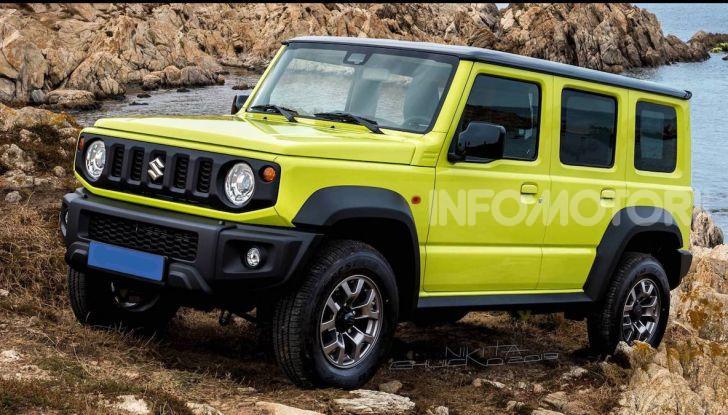 Suzuki Jimny: in arrivo la versione a 5 porte? - Foto 2 di 2