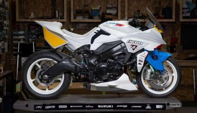 Suzuki Katana Brand New Jack by Icon: un po' moto un po' manga