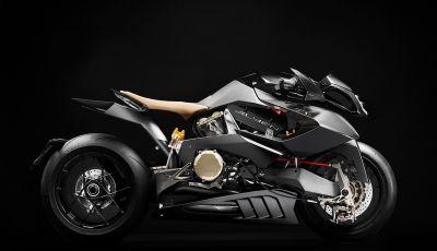 Vyrus Alyen: la moto che sembra essere venuta dal futuro