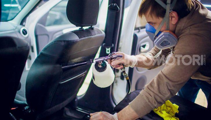 Manutenzione auto ferma garage Coronavirus