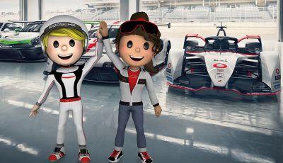 Porsche lancia l'iniziativa 4Kids per imparare divertendosi con le quattro ruote