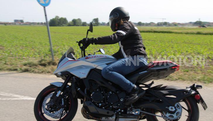 Test ride Suzuki Katana Jindachi: la naked che unisce potenza ed eleganza - Foto 36 di 40