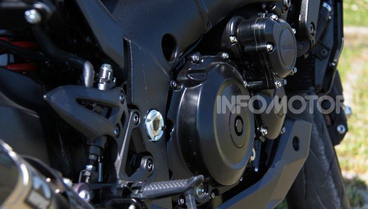 Test ride Suzuki Katana Jindachi: la naked che unisce potenza ed eleganza - Foto 4 di 40