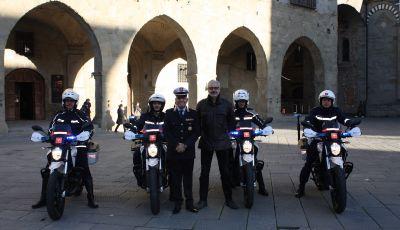 Polizia di Pistoia,l pattugliamento a impatto zero grazie a Zero Motorcycles