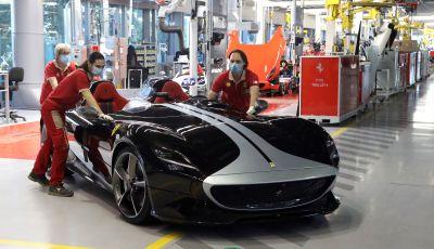 Ferrari: la Casa di Maranello riprende la produzione a pieno regime