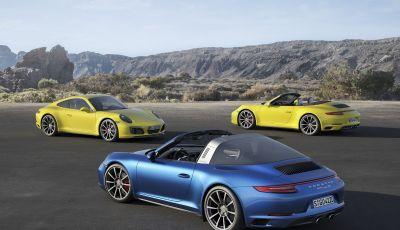 Porsche 911 Targa: storia di un successo lungo oltre 50 anni
