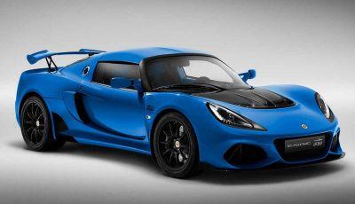 Lotus Exige 410, versione speciale 20th Anniversary