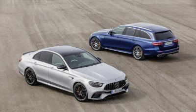 Mercedes-AMG E 63 4MATIC: berlina e station wagon fanno rima con prestazioni e comfort