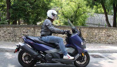 Prova Sym Maxsym 500 TL: il compagno di viaggio per tutti i giorni