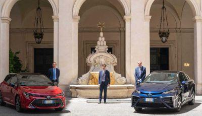 Una Toyota Corolla Full Hybrid per la Presidenza del Consiglio