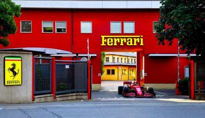 Charles Leclerc sveglia Maranello con la Ferrari F1 SF1000!