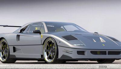 Ferrari FXX40: la versione moderna della mitica Ferrari F40