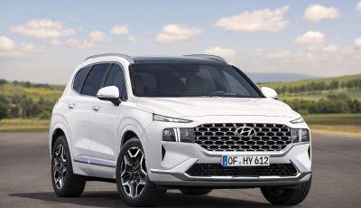 Nuova Hyundai Santa Fe 2020: motori e dotazioni di serie