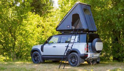 Land Rover Defender 110 con tenda da tetto Autohome