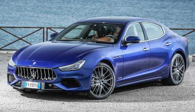 Maserati Ghibli Hybrid: il 15 luglio la presentazione ufficiale