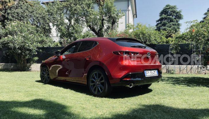 Test Drive Mazda3 2.0 da 180 cv Mild Hybrid - Foto 14 di 21