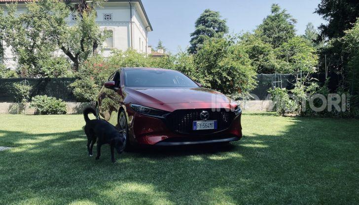 Test Drive Mazda3 2.0 da 180 cv Mild Hybrid - Foto 4 di 21