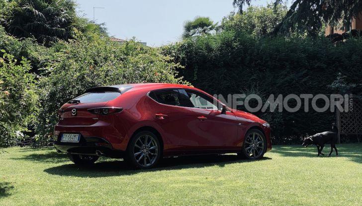 Test Drive Mazda3 2.0 da 180 cv Mild Hybrid - Foto 10 di 21