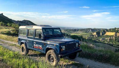 Land Rover Defender elettrico, il progetto di Tazzari EV Technology