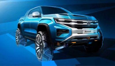 Volkswagen Amarok 2022: la base è il nuovo Ford Ranger