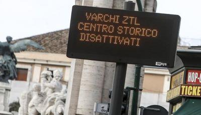 Roma: Ztl aperte fino al 15 gennaio 2021