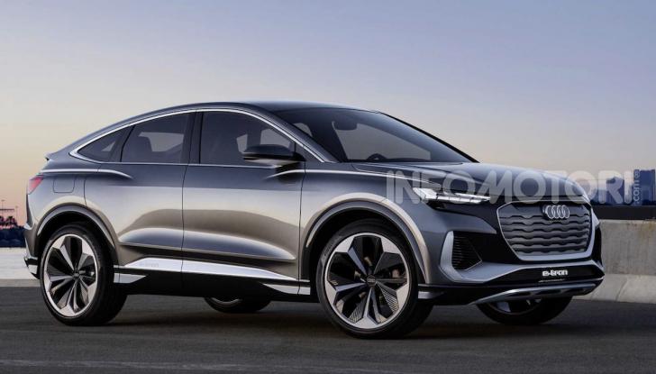 Audi Q4 Sportback e-tron concept: il nuovo SUV elettrico da oltre 300 CV - Foto 7 di 12