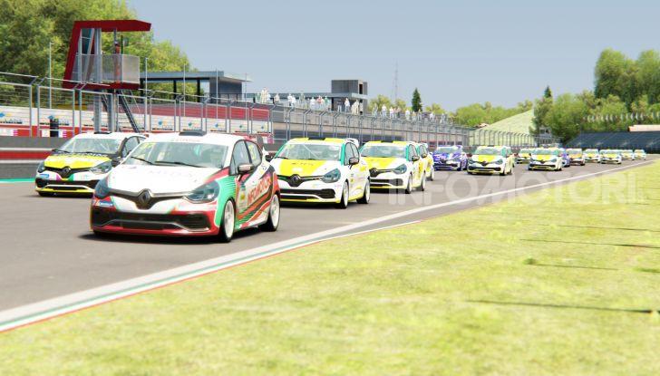 Infomotori e Michele Faccin si laureano campioni della Clio Cup eSport 2020 - Foto 3 di 6