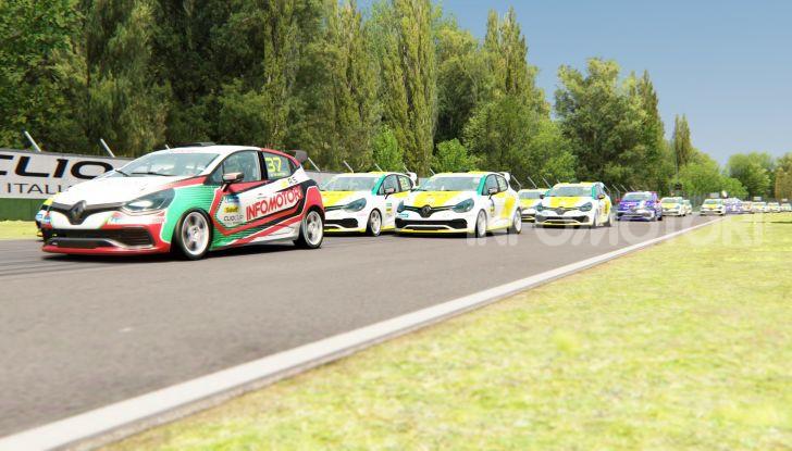 Infomotori e Michele Faccin si laureano campioni della Clio Cup eSport 2020 - Foto 4 di 6