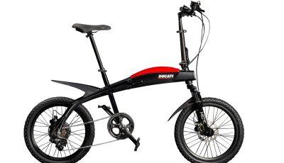 Ecco le e-bike pieghevoli di Ducati e MT Distribution