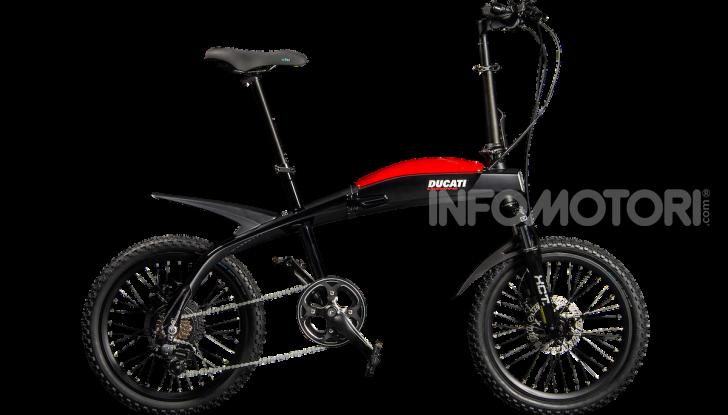 Ecco le e-bike pieghevoli di Ducati e MT Distribution - Foto 2 di 6