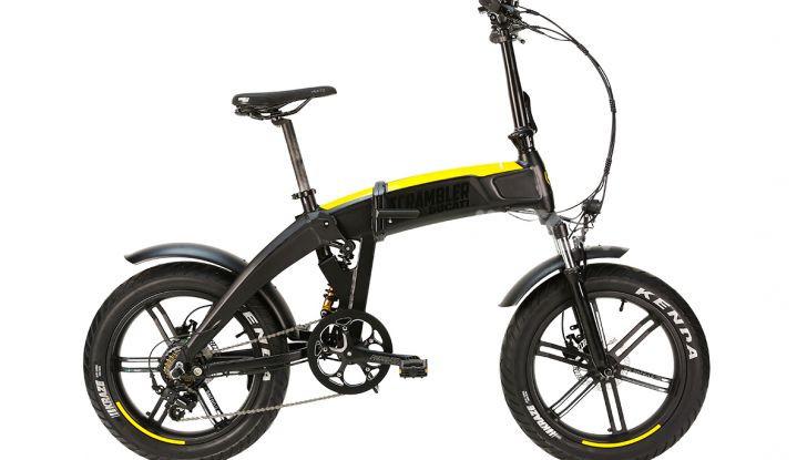 Ecco le e-bike pieghevoli di Ducati e MT Distribution - Foto 3 di 6