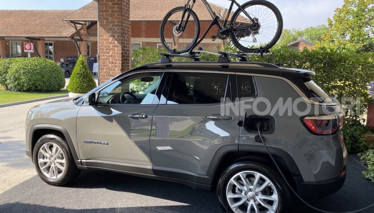 [VIDEO] Jeep: Renegade e Compass 4xe ridefiniscono gli standard delle auto ibride plug-in - Foto 33 di 34