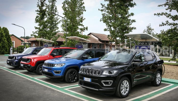 [VIDEO] Jeep: Renegade e Compass 4xe ridefiniscono gli standard delle auto ibride plug-in - Foto 1 di 34