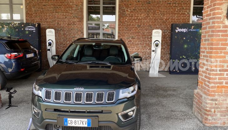 [VIDEO] Jeep: Renegade e Compass 4xe ridefiniscono gli standard delle auto ibride plug-in - Foto 28 di 34