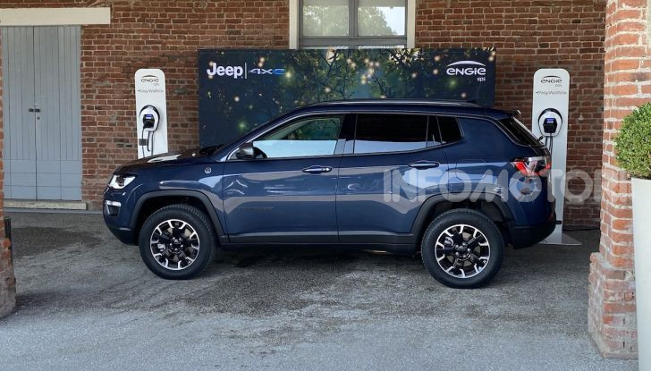 [VIDEO] Jeep: Renegade e Compass 4xe ridefiniscono gli standard delle auto ibride plug-in - Foto 27 di 34