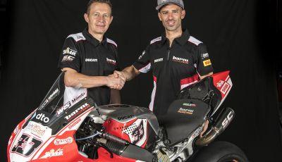 Melandri ci ripensa: torna in Superbike col Team Barni
