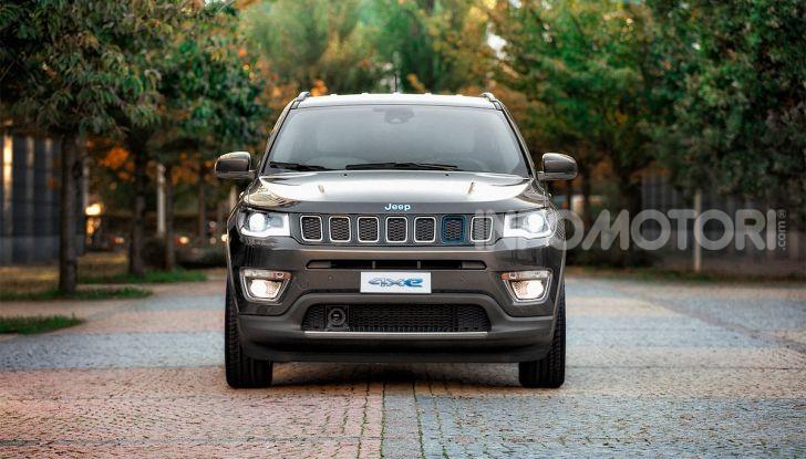 Mopar firma la tecnologia per Jeep Renegade 4xe e Jeep Compass 4xe - Foto 1 di 4