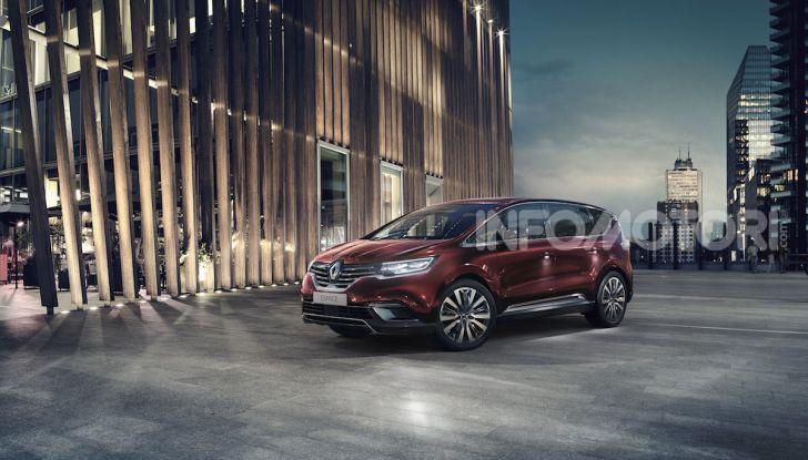 Nuova Renault Espace: look da crossover e tanta tecnologia - Foto 12 di 34