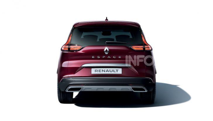 Nuova Renault Espace: look da crossover e tanta tecnologia - Foto 17 di 34