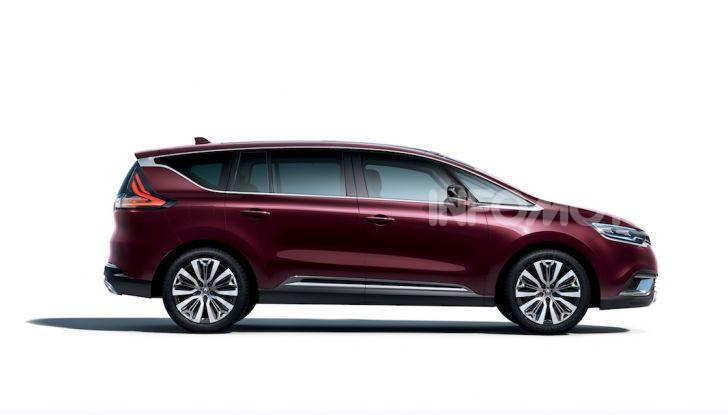 Nuova Renault Espace: look da crossover e tanta tecnologia - Foto 18 di 34